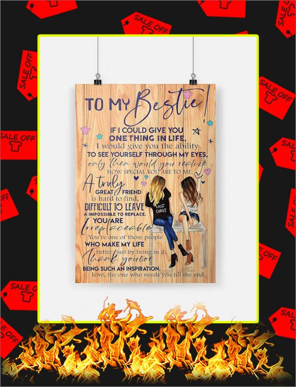 To My Bestie Poster