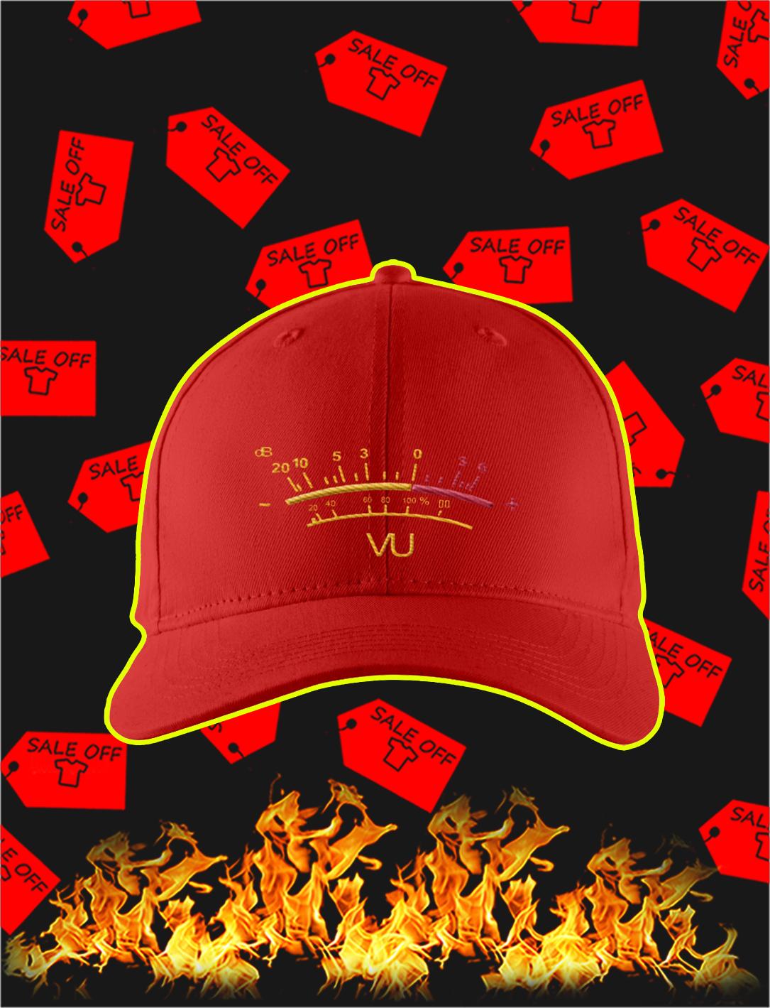 VU Meter Hat- red