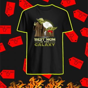 Yoda Best Mom In The Galaxy Shirt
