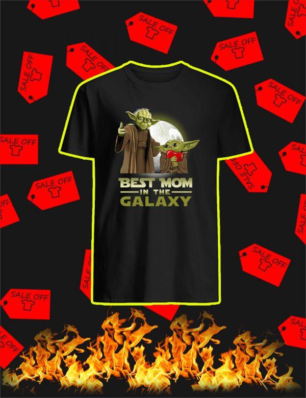 Yoda Best Mom In The Galaxy Shirt