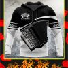 Accordion music 3d hoodie