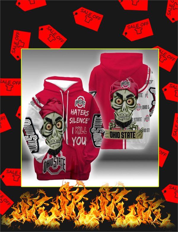 Achmed Ohio State Buckeyes 3d hoodie