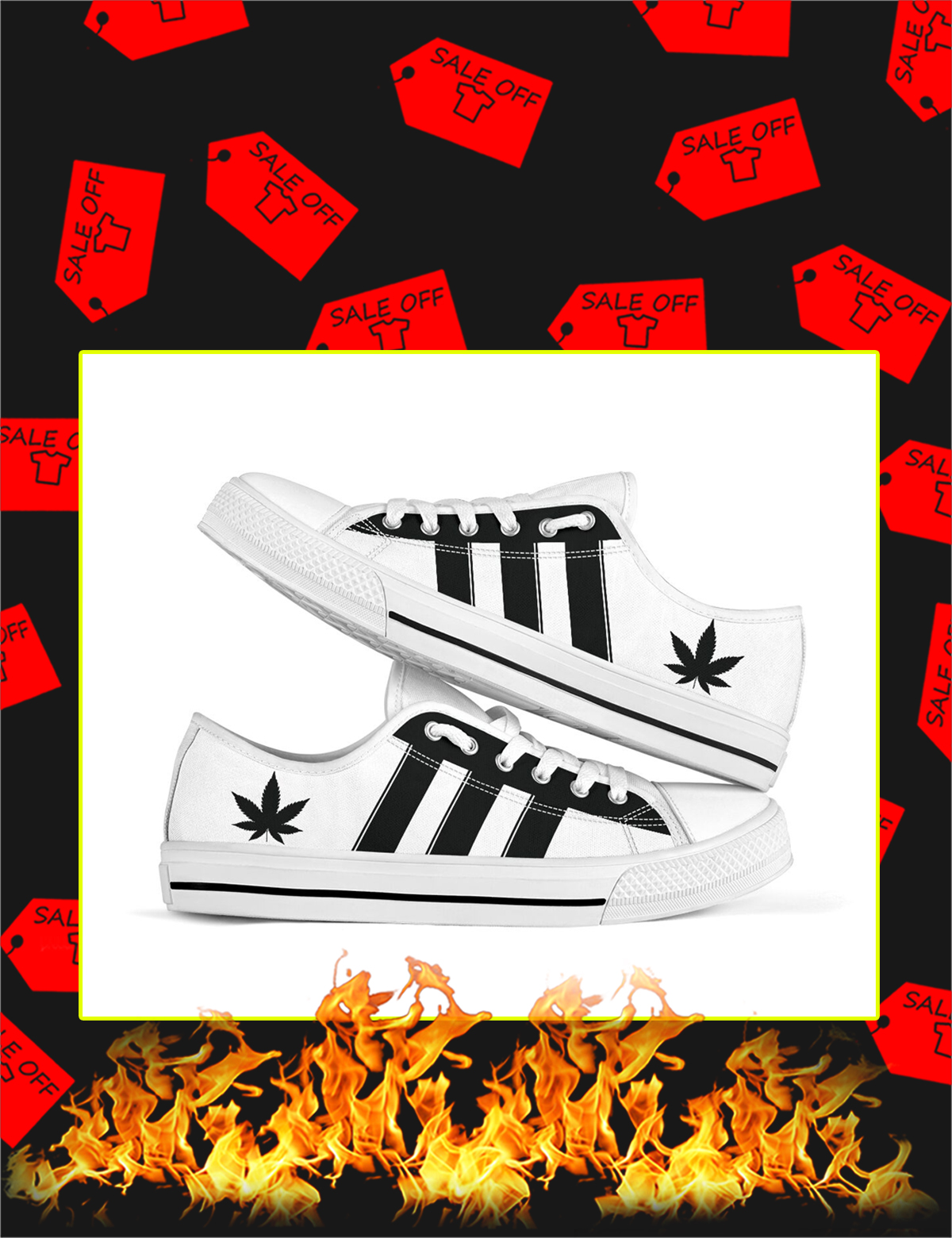 Adidas Cannabis Low Top Shoes - Picture 1