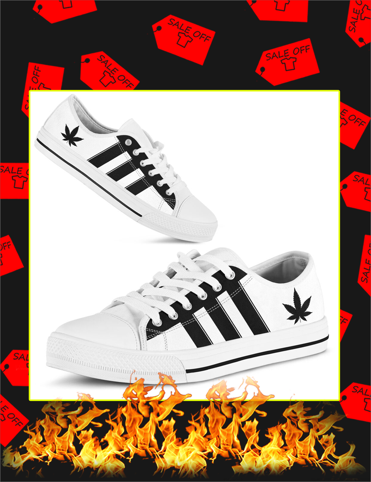 Adidas Cannabis Low Top Shoes - Picture 3