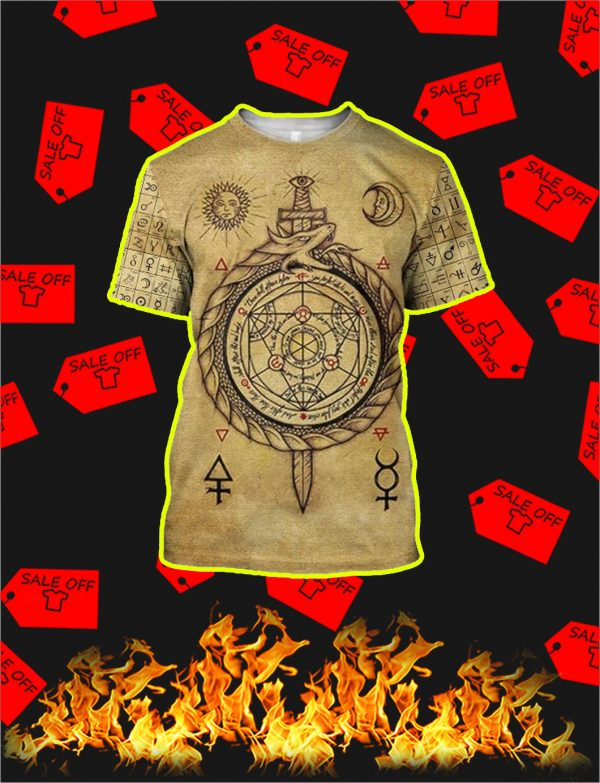 Alchemy 3D All Over Printed Shirt