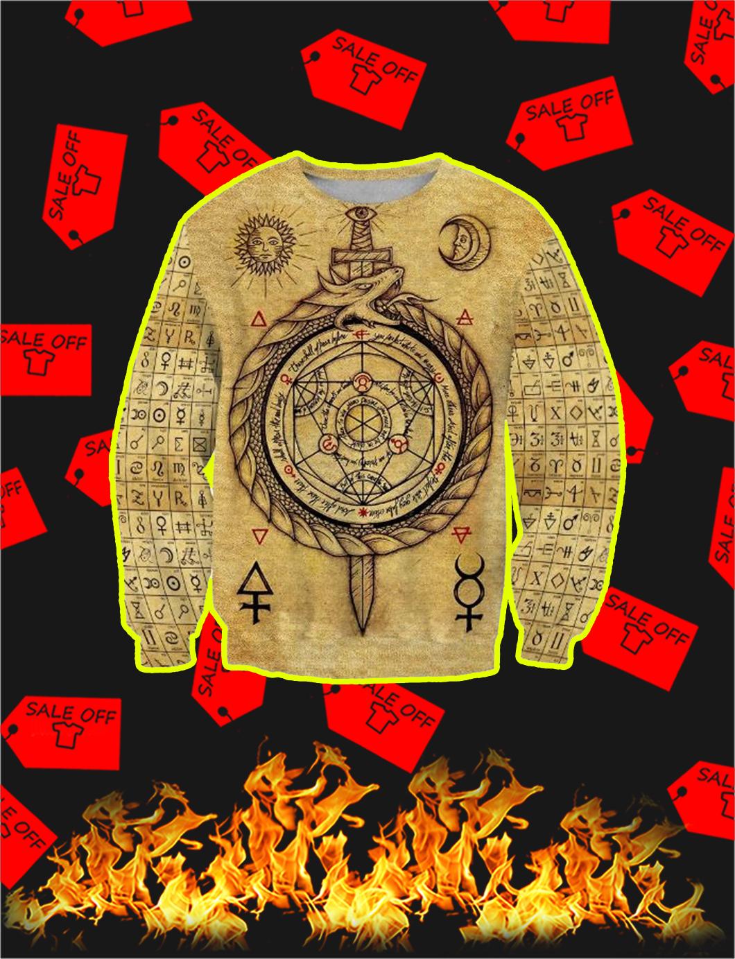 Alchemy 3D All Over Printed Sweatshirt