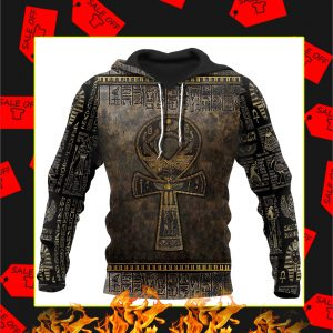 Ankh Egypt 3D All Over Printed Hoodie