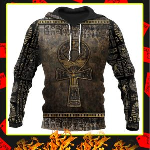 Ankh Egypt Hoodie 3D All Over Printed hoodie
