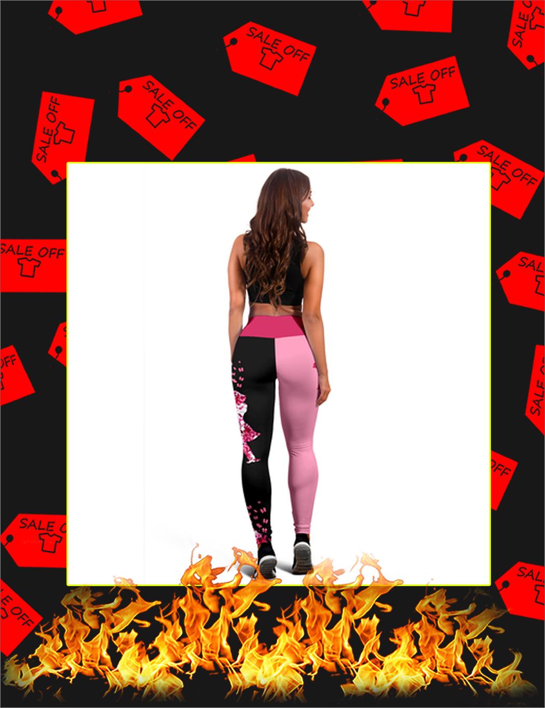 Bachata Dance Live Love Dance 3D Legging - Picture 1