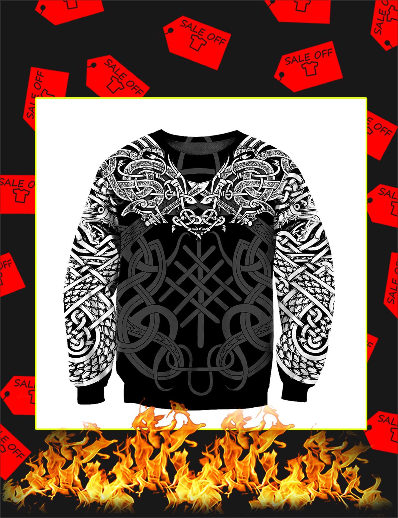 Celtic Dragon Tattoo Art 3D All Over Printed Sweatshirt