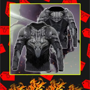Chainmail Knight Armor 3D Printed Hoodie