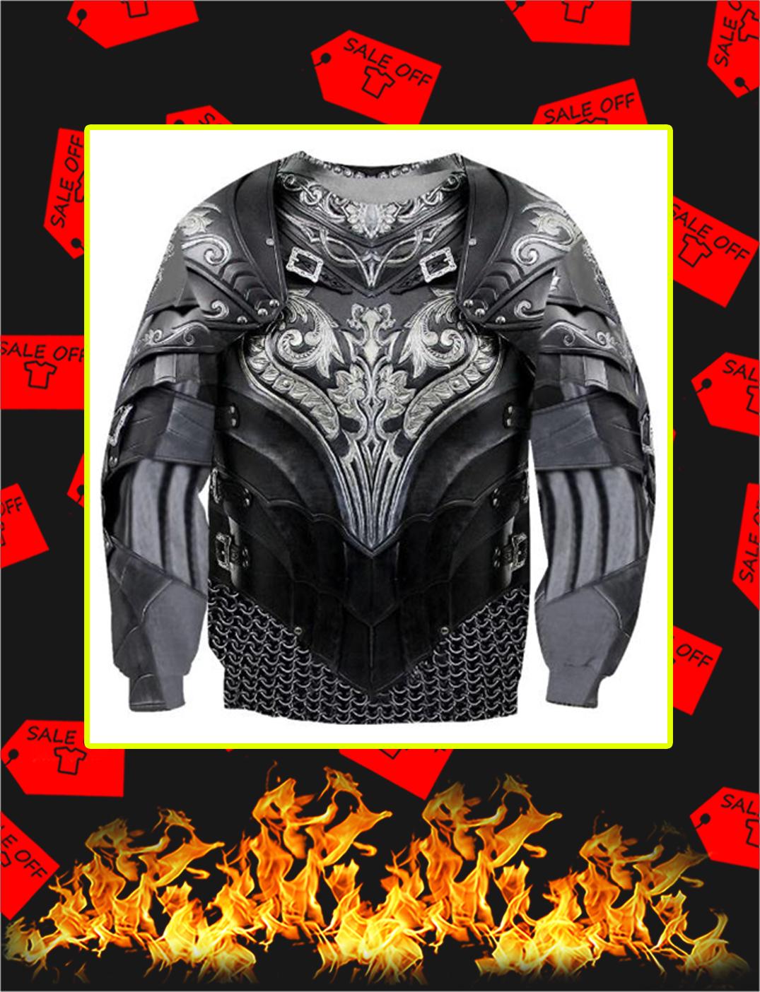 Chainmail Knight Armor 3D Printed Sweatshirt