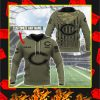 Chicago Bears Custom Name Personalize Hoodie