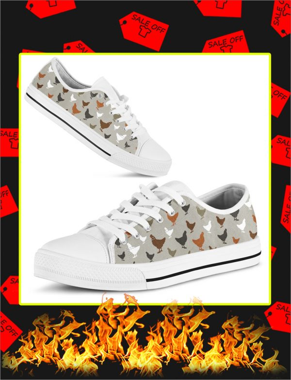Chicken Low Top Shoes