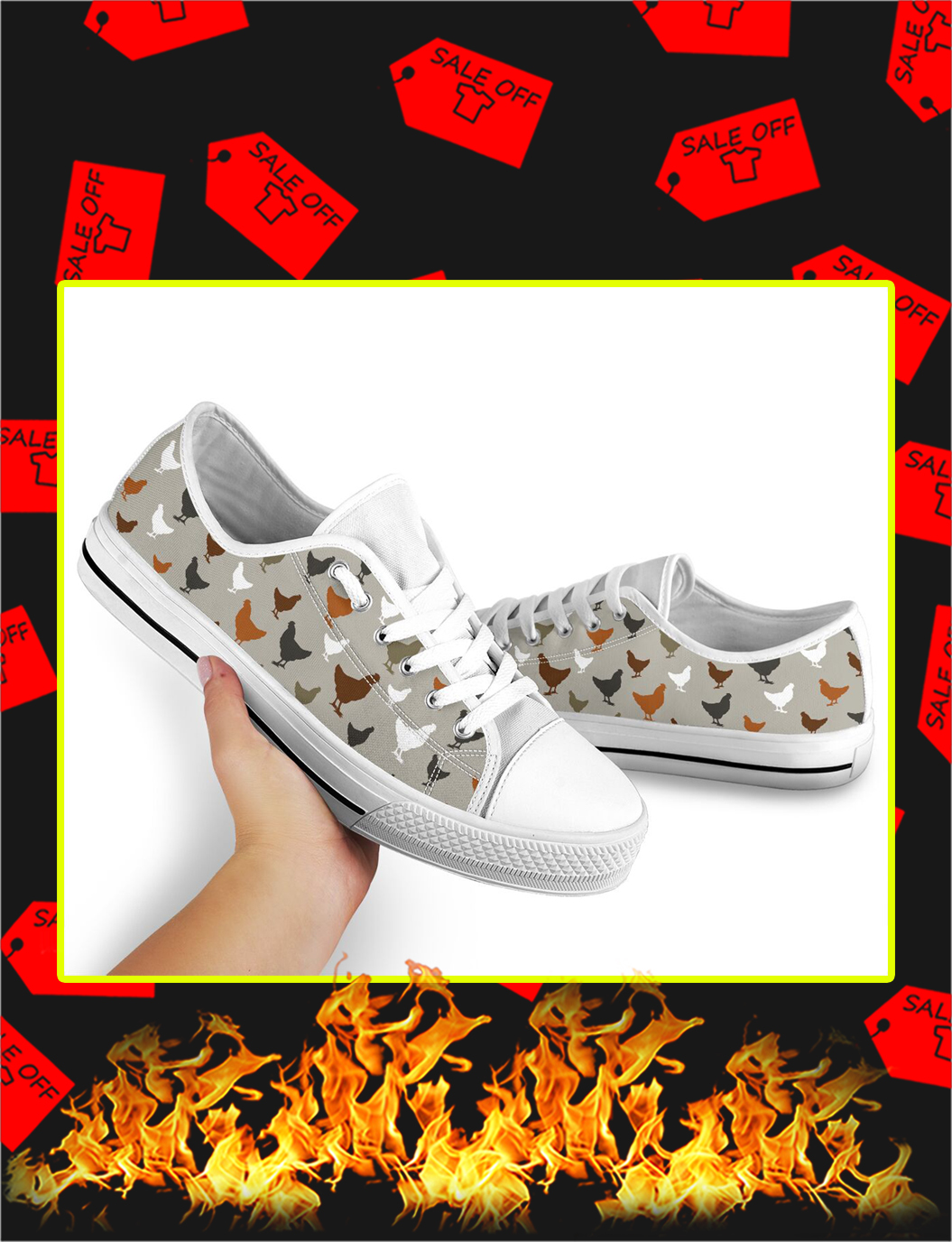 Chicken Low Top Shoes- picture 2