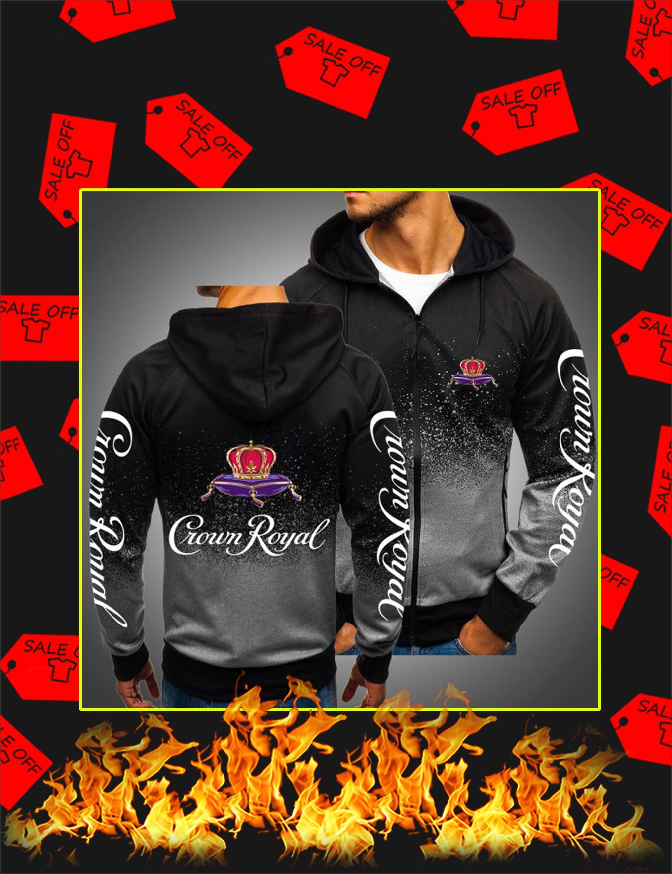 Crown Royal Gradient Hoodie - Darkgrey