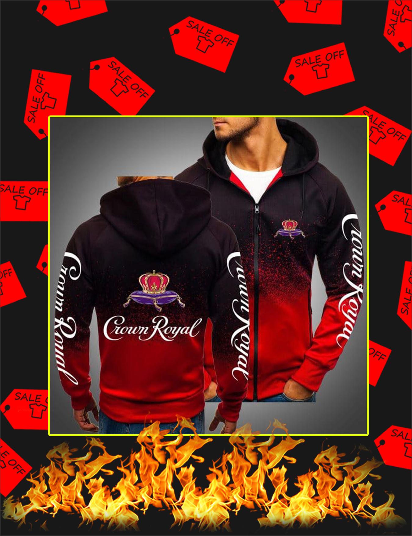 Crown Royal Gradient Hoodie - Red