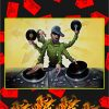 DJ master mixing poster