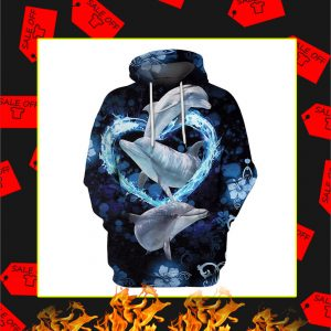 Dolphin Lovers 3d hoodie