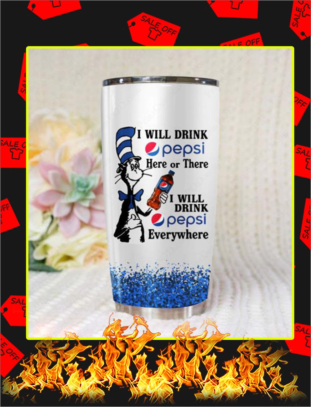 Dr Seuss I Will Drink Pepsi Steel Tumbler - 20 oz