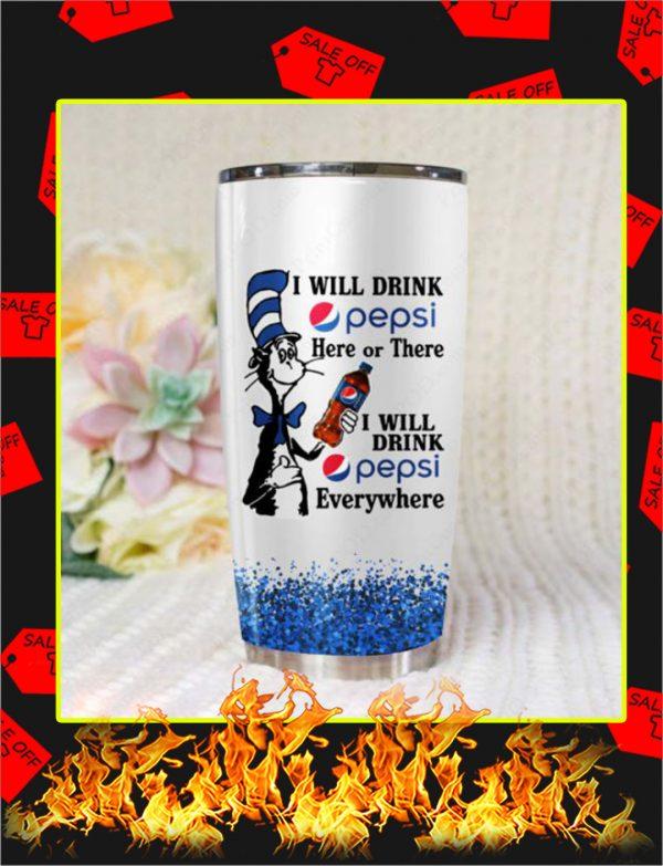 Dr Seuss I Will Drink Pepsi Steel Tumbler