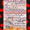 Elephant To My Granddaughter Grandma Poster