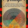 Feelings Wheel Feelings Are Much Like Waves Poster