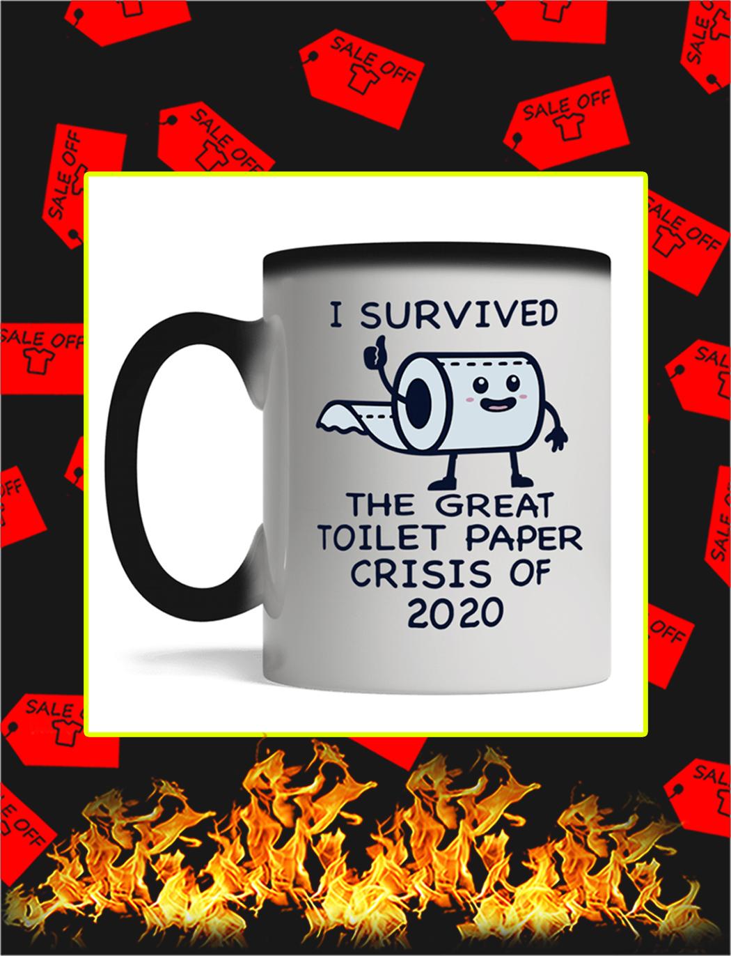 I Survived The Great Toilet Paper Crisis Of 2020 Mug- magic mug