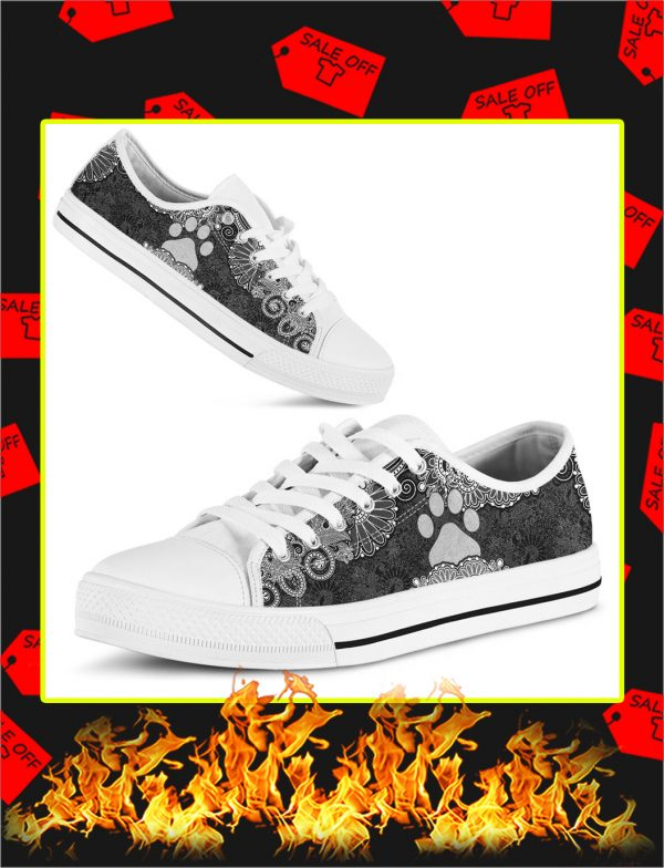 Paw Dog Low Top Shoes