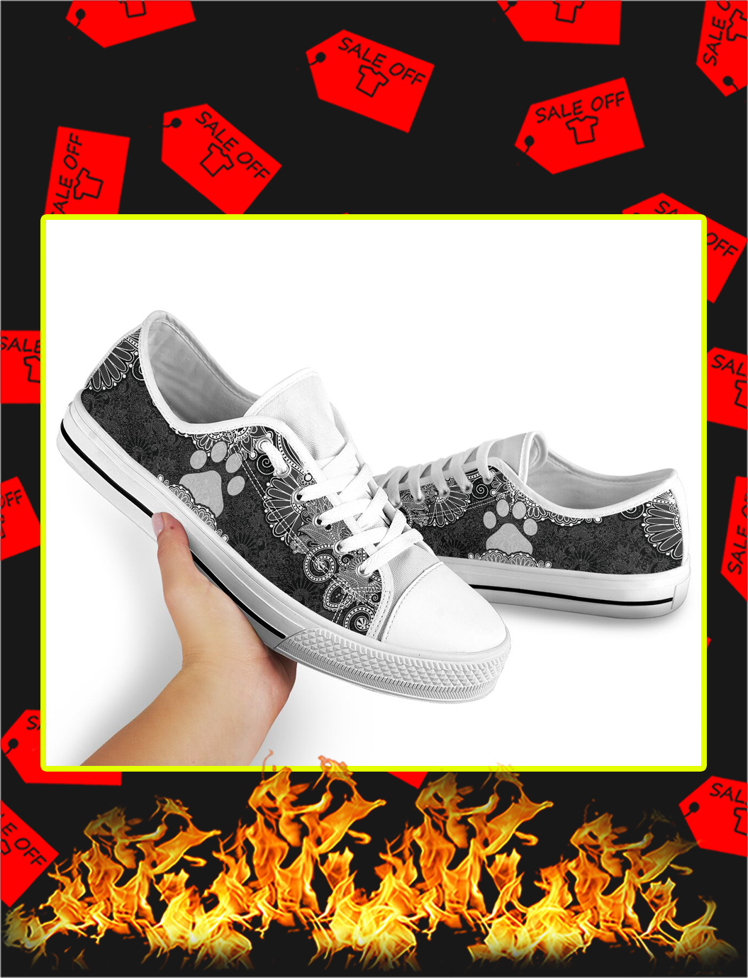 Paw Dog Low Top Shoes- picture 2
