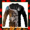 Pheasant Hunting German Shorthaired Pointer 3D All Over Printed Hoodie