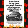 Porsche Honestly Now Did You Spend Your Youth Dreaming Poster