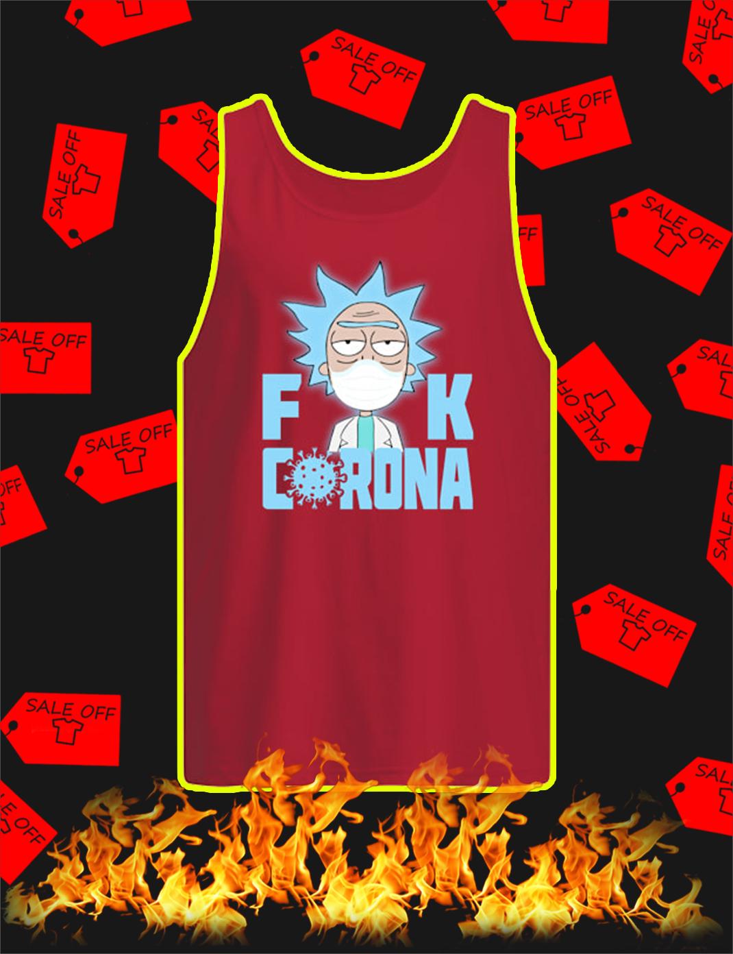Rick Fuck Corona tank top