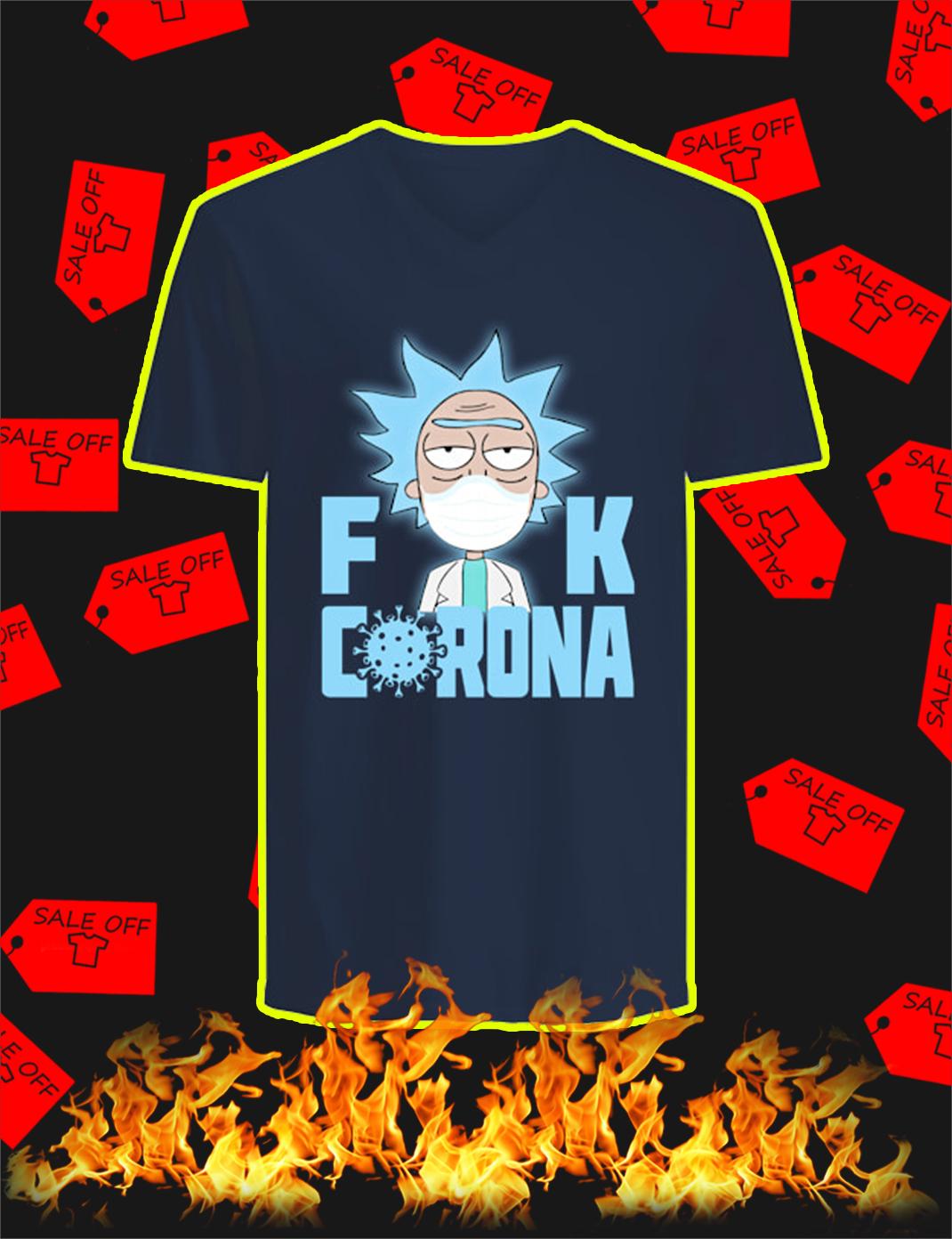 Rick Fuck Corona v-neck