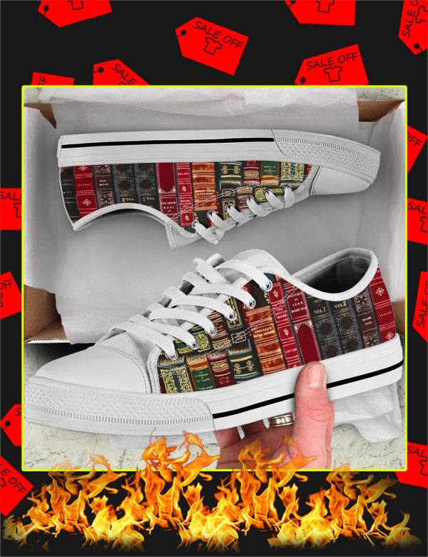 Spine Book Low Top Shoes