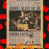 The Goonies Newspaper Poster