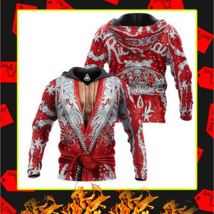 The Nature Boy Robe 3D All Over Printed hoodie