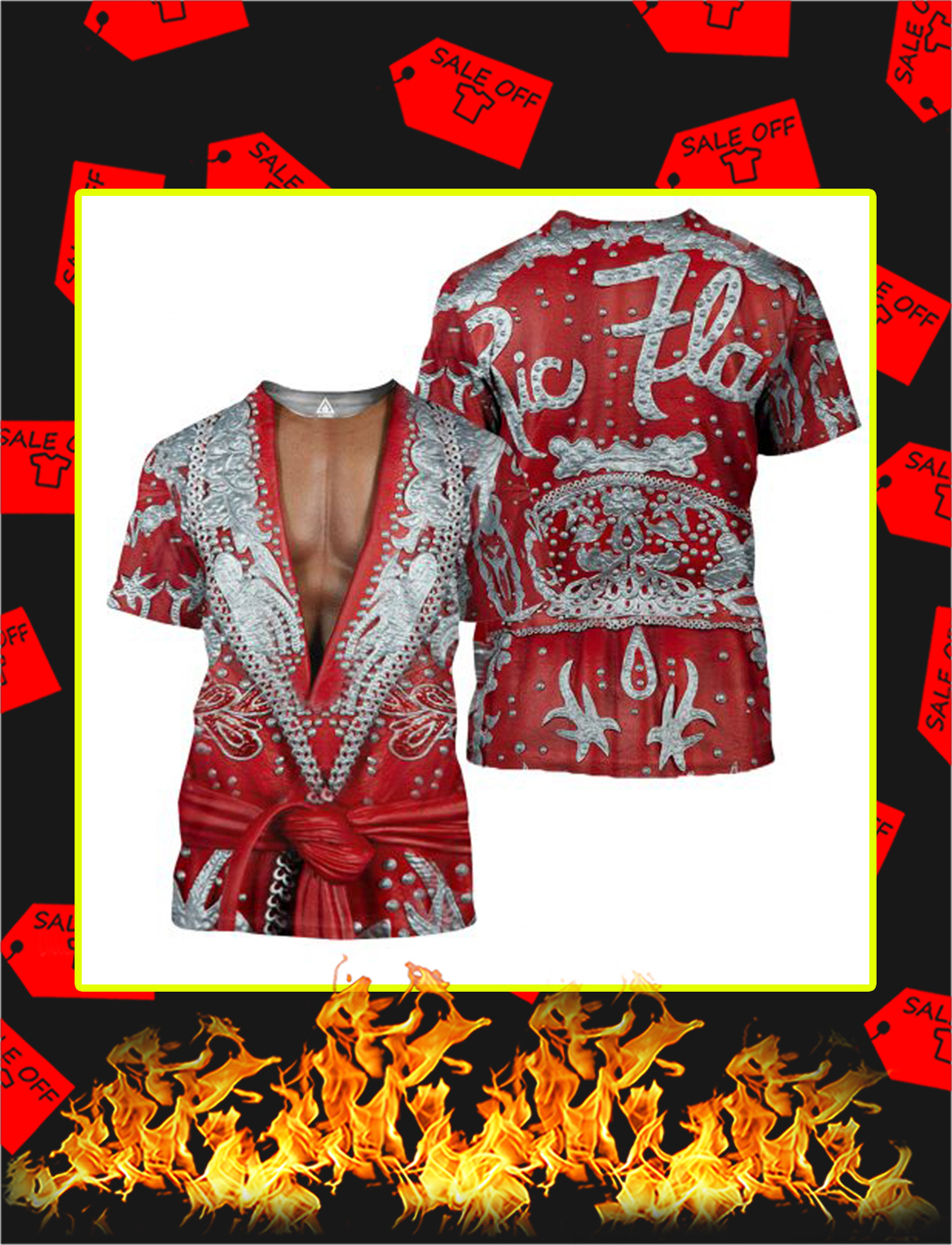The Nature Boy Robe 3D All Over Printed shirt