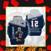 Tom Brady Thank You For The Memories Signature 3d hoodie