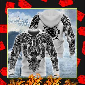 Viking Tattoo All-Over Print hoodie
