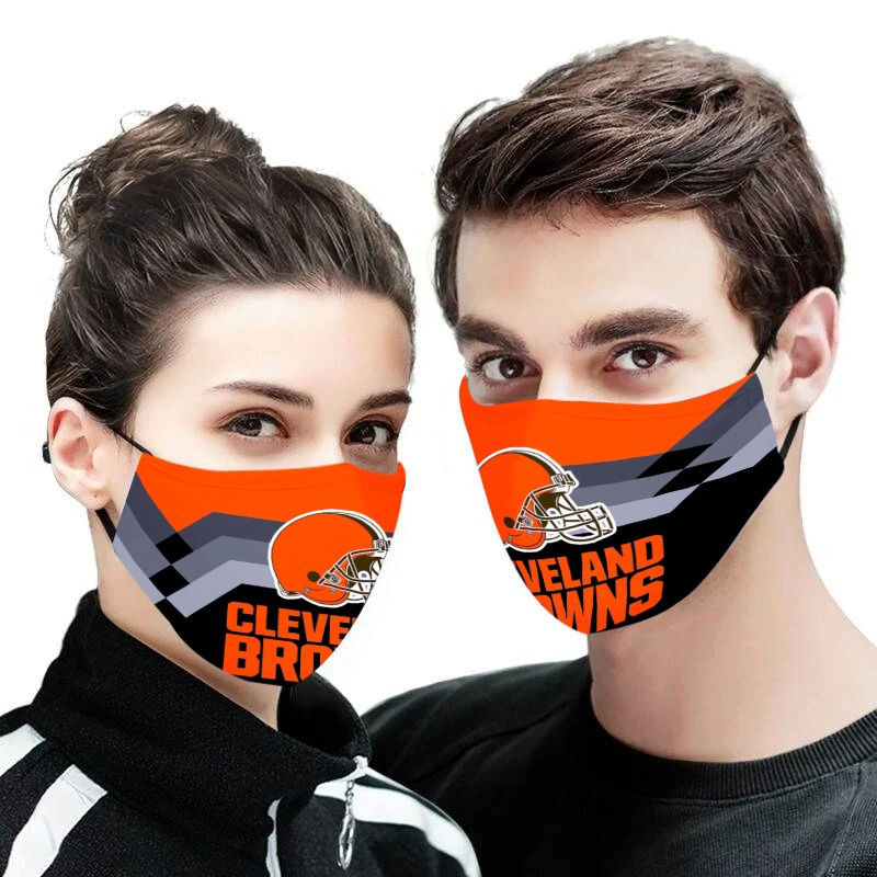 Cleveland browns face mask - Picture 1