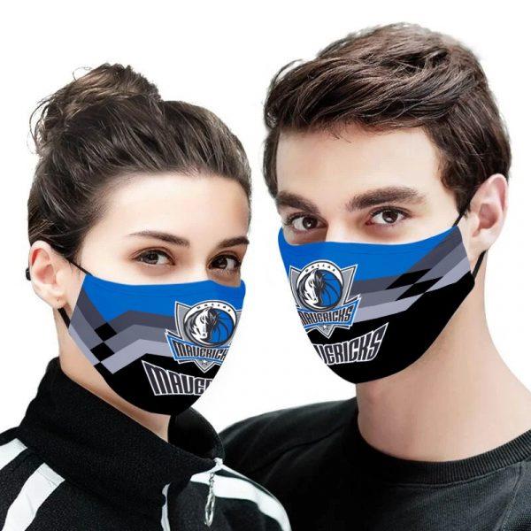 Dallas Mavericks NBA face mask