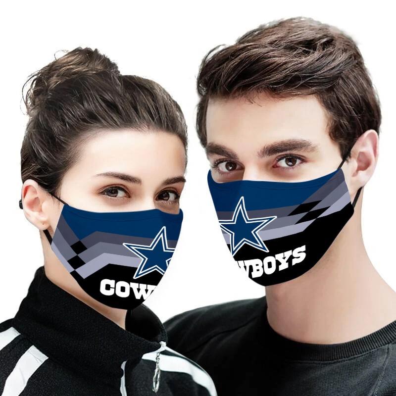 Dallas cowboys face mask - Picture 1