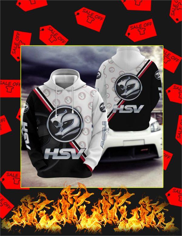 HSV logo 3d hoodie
