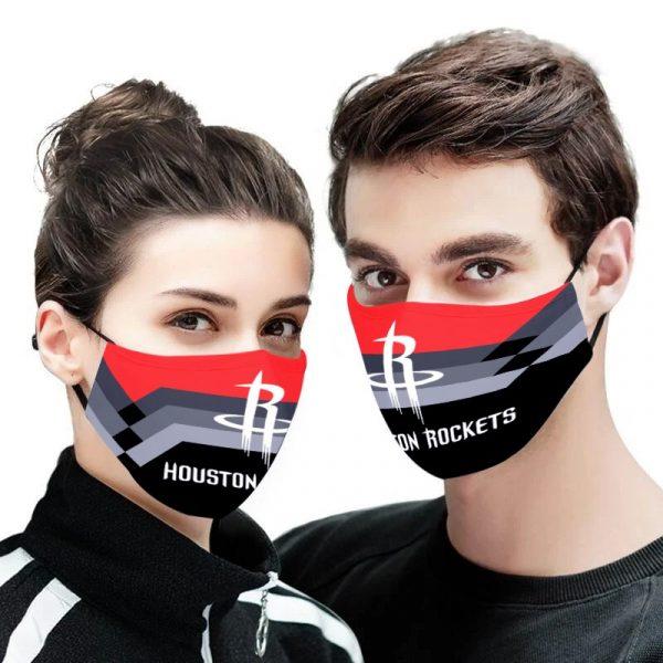 Houston Rockets NBA face mask