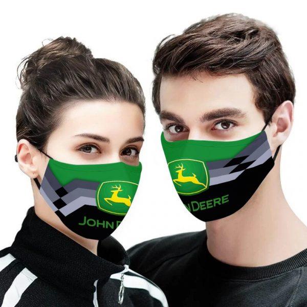 John Deere face mask