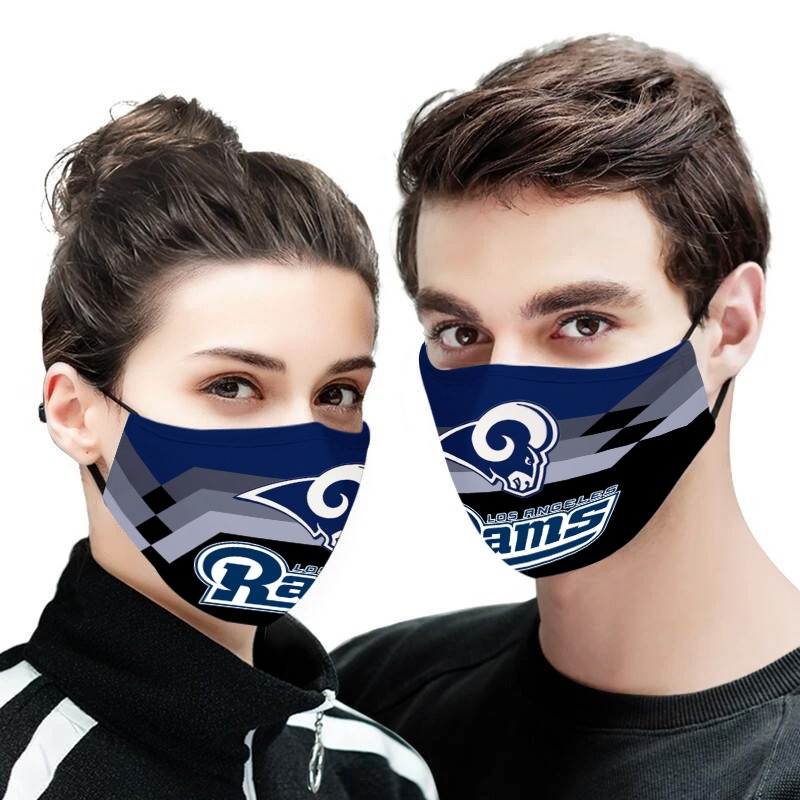 Los angeles rams face mask - Picture 1