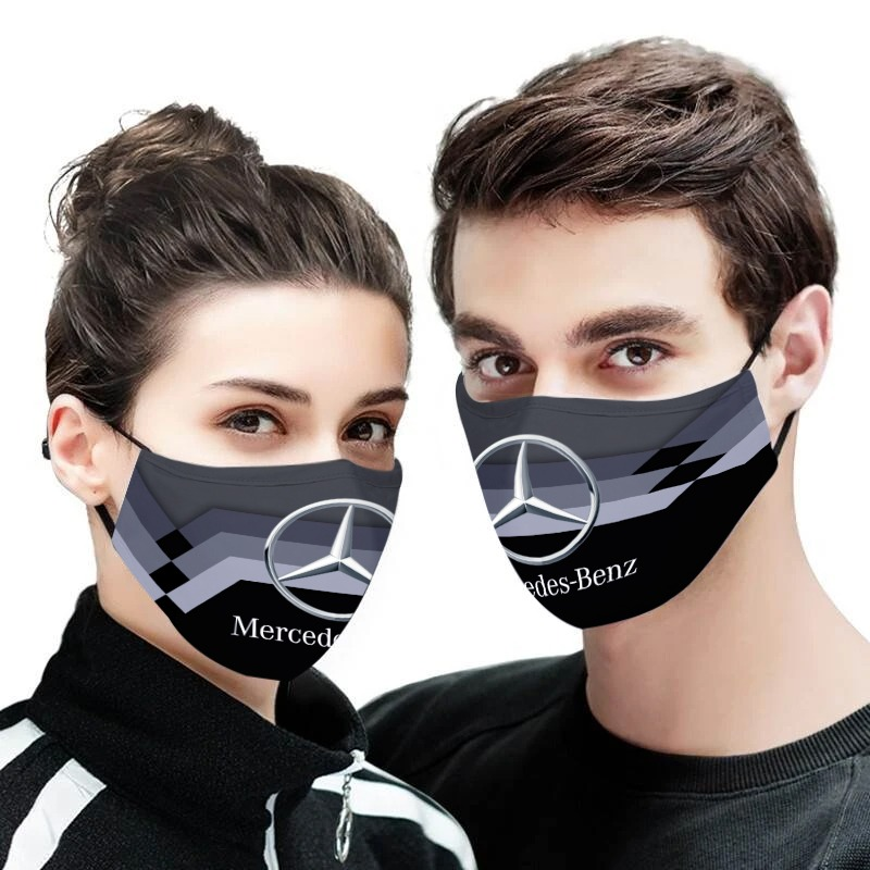Mercedes-Benz face mask - Picture 1
