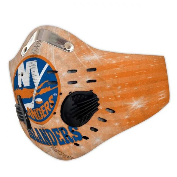 New york islanders filter face mask