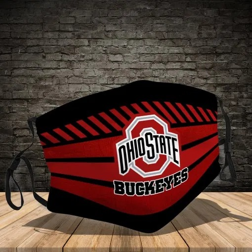 Ohio state buckeyes face mask - Picture 1